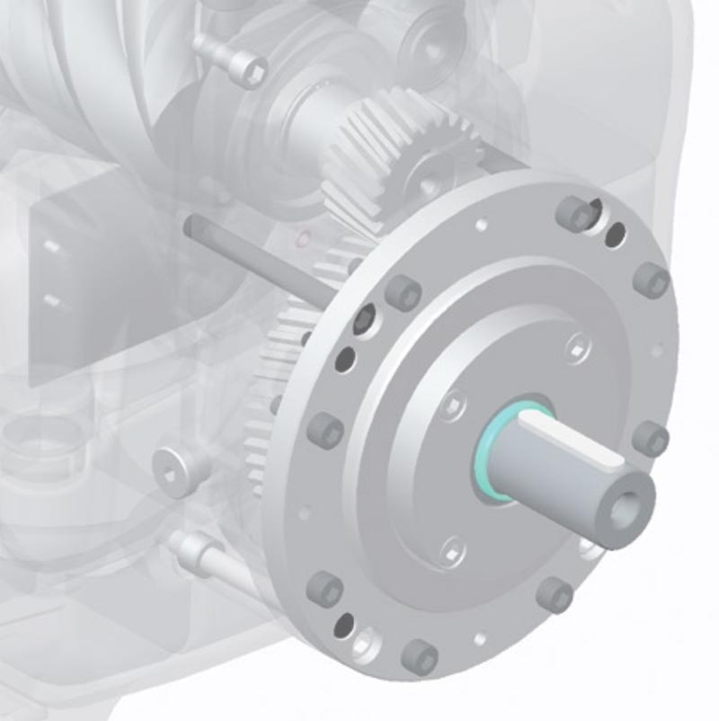 Screw Air Compact Units with Gear Drive