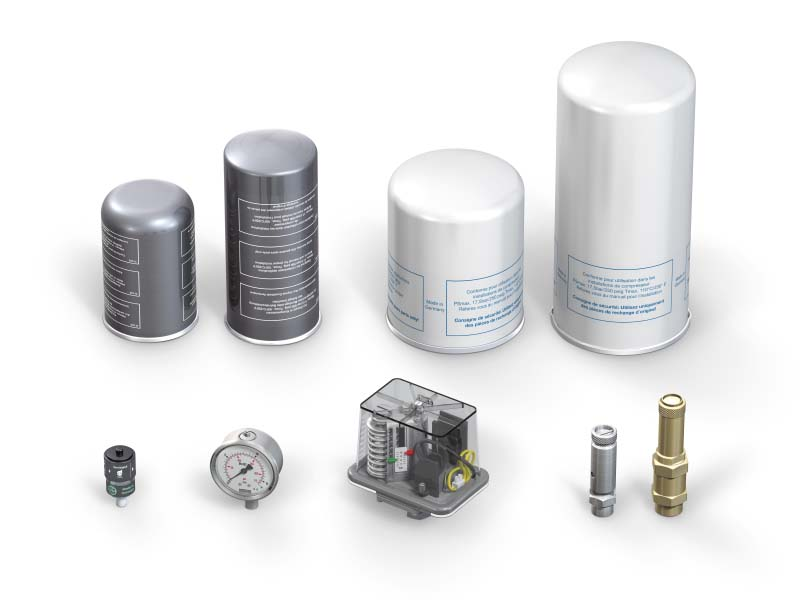 Spare Parts - Customer Support - ROTORCOMP® - The Screw Compressor