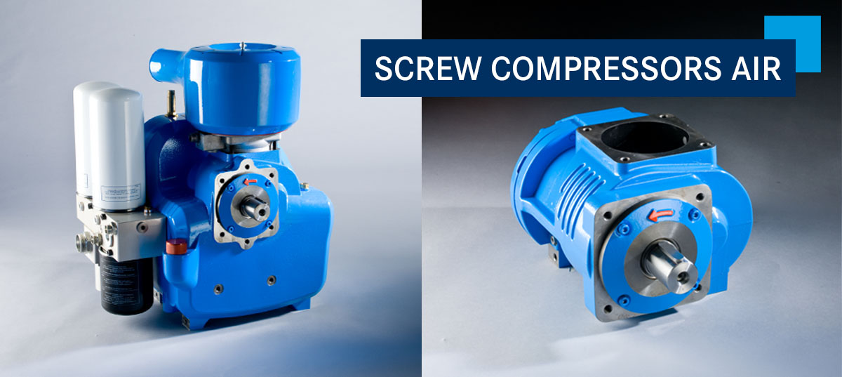 SCREW COMPRESSORS AIR